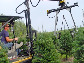 Christmas Tree Sprayer.Richards Christmas Tree Farm